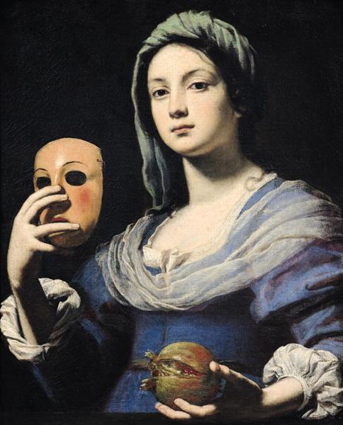 Woman-with-a-Mask-xx-Lorenzo-Lippi é